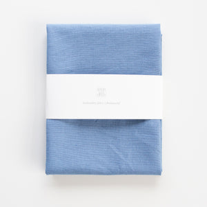 Borduurstof Linnen Viscose 'Soft blue' | Embroidery fabric Linen Viscose 'Soft blue'