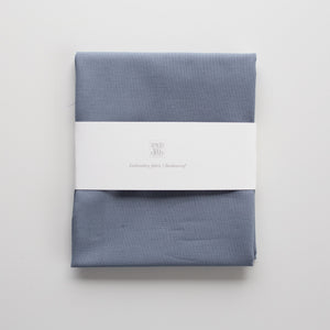 Embroidery fabric Cotton 'Stone blue'