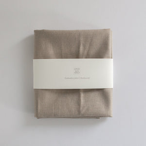 Borduurstof 'Sand' | Embroidery fabric 'Beige'