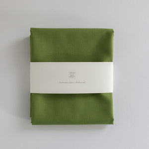 Borduurstof 'Field green' | Embroidery fabric 'Field Green