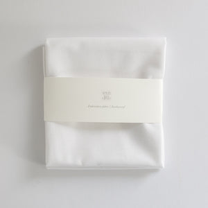 Borduurstof 'White' | Embroidery fabric 'White'
