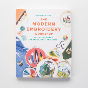 'Modern Embroidery Workshop' by Lauren Holton