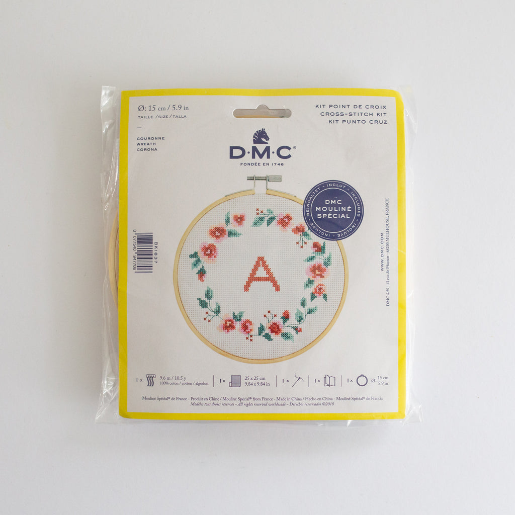 DMC Borduurkit 'Wreath' | DMC Embroidery kit 'Wreath'