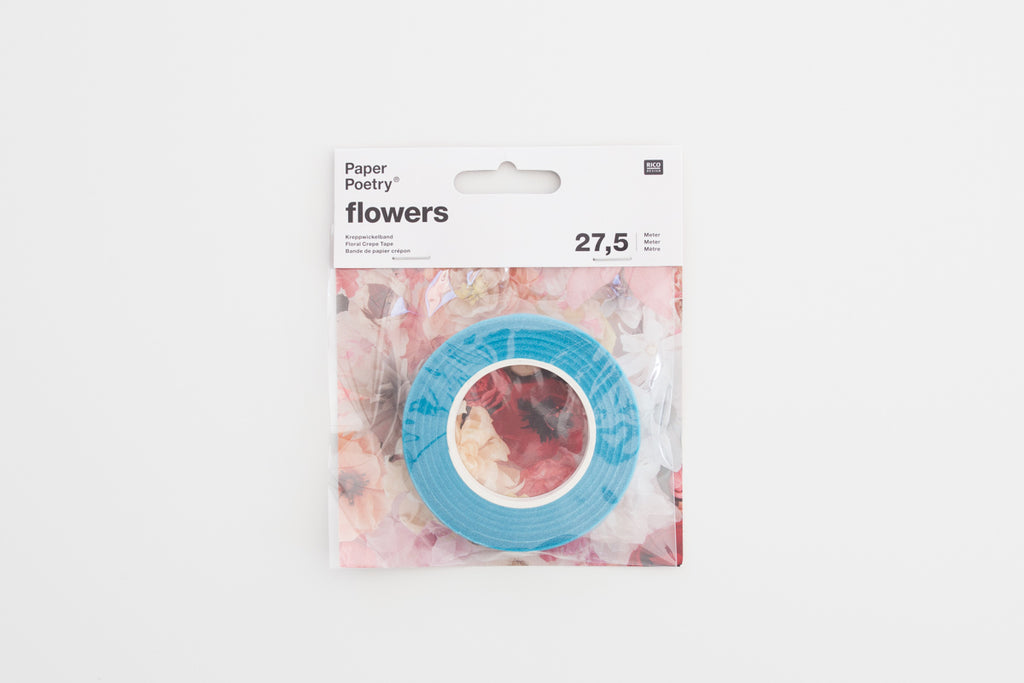 Floral tape Blauw