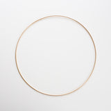Goudkleurige ring 30 cm | Gold colored ring 30 cm