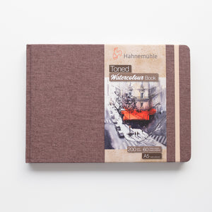 Hahnemuhle Toned Watercolour Book Beige A5