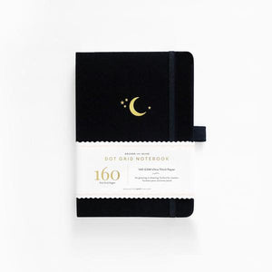 Archer & Olive Dot grid B5 Crescent Moon