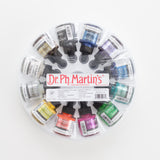 Iridescent ink Dr Ph. Martins set 1