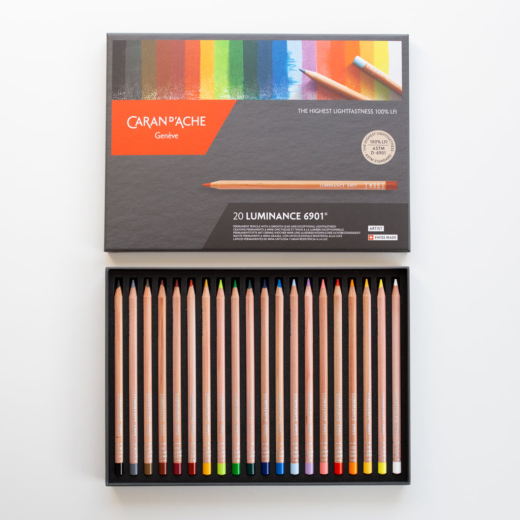 Caran d' Ache Luminance set 20