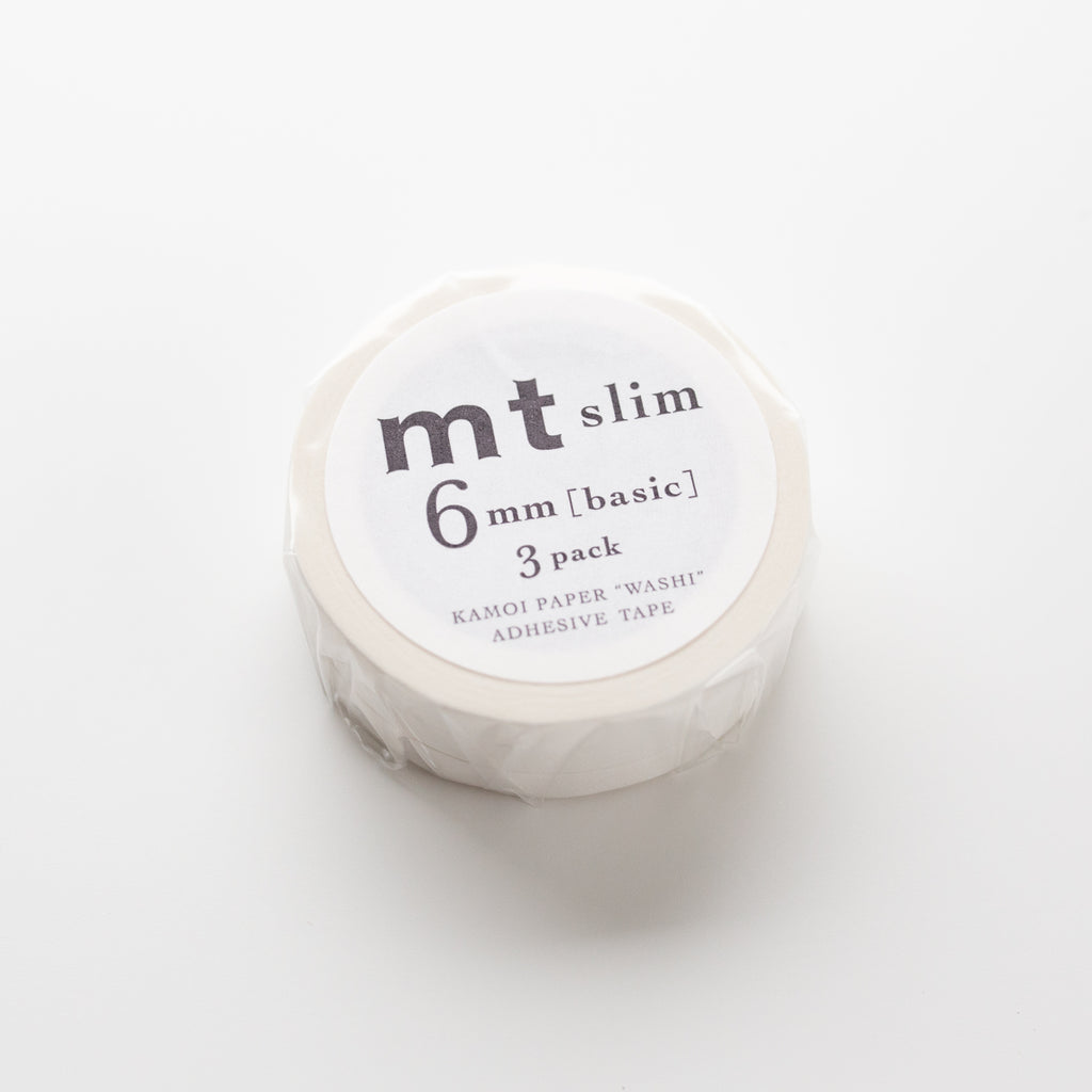 MT Masking Tape Matte White 3 pack