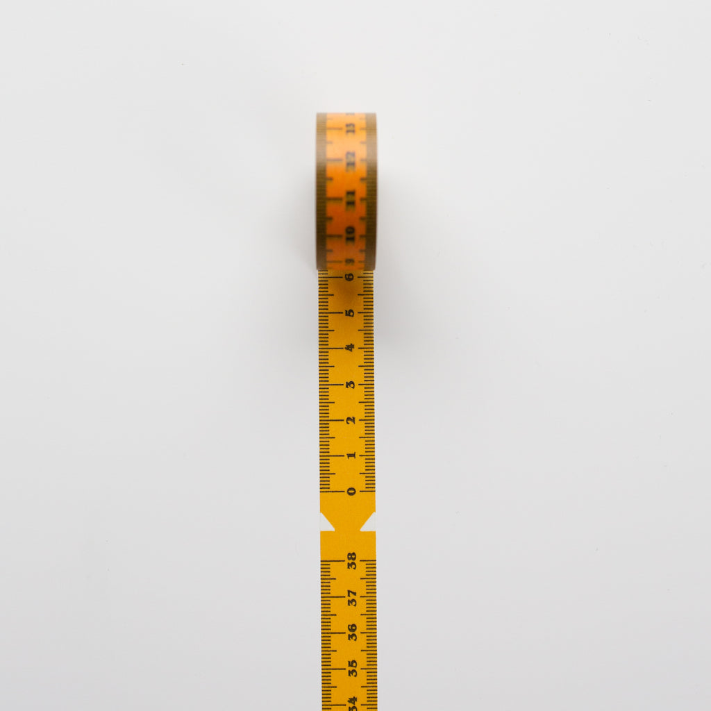 Washi Tape Ruler Yellow