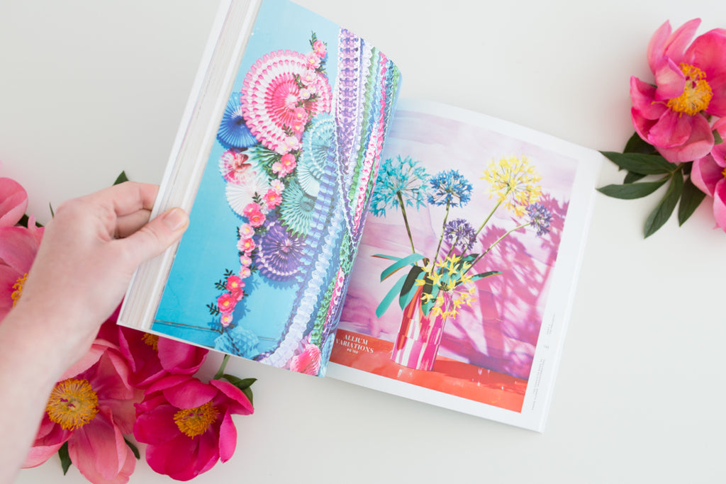 'The Exquisite Book of Paper Flowers Transformations' by Livia Cetti
