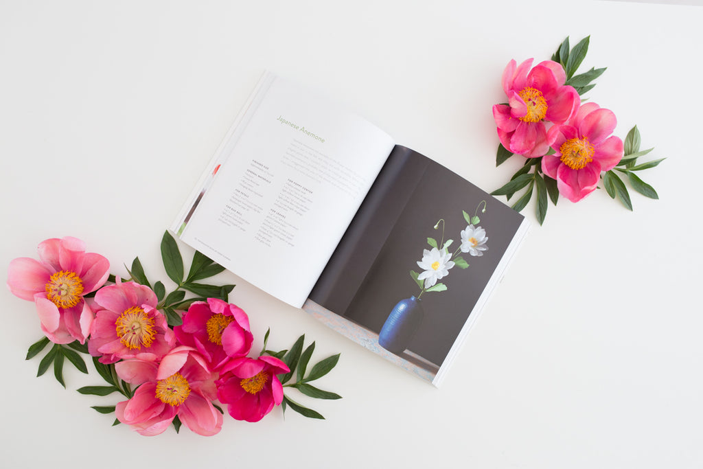 Exquisite book for paper flowers
