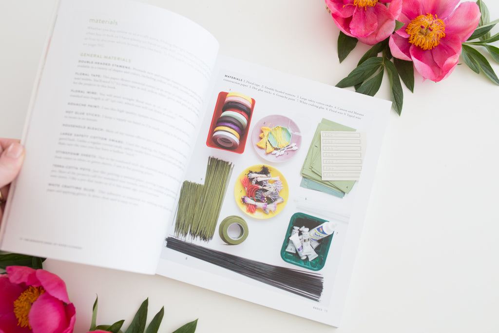 'Exquisite Book for Paper Flowers' by Livia Cetti