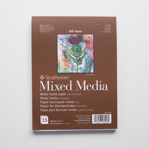 Strathmore 300 Mixed Media Pad 15x20cm 300g