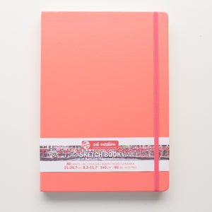 Talens Sketchbook Coral Red 21x30 140g