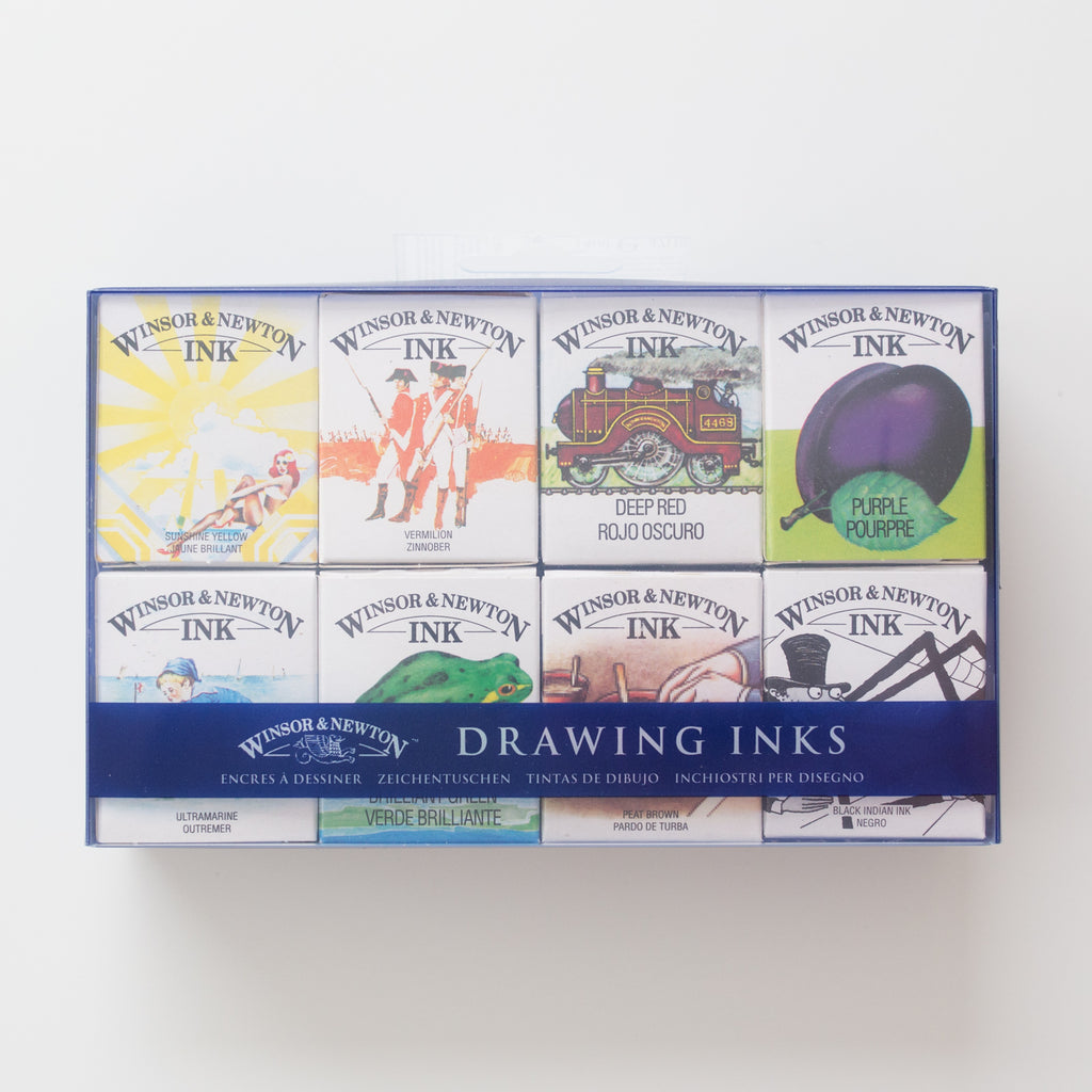 Winsor & Newton drawing ink William