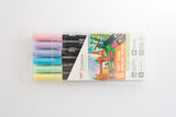 Tombow Dual Brush ABT Set 6 Pastels