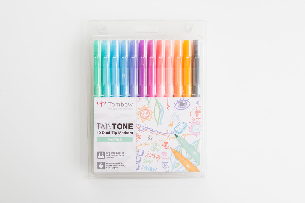 Tombow Twin Tone Pastels