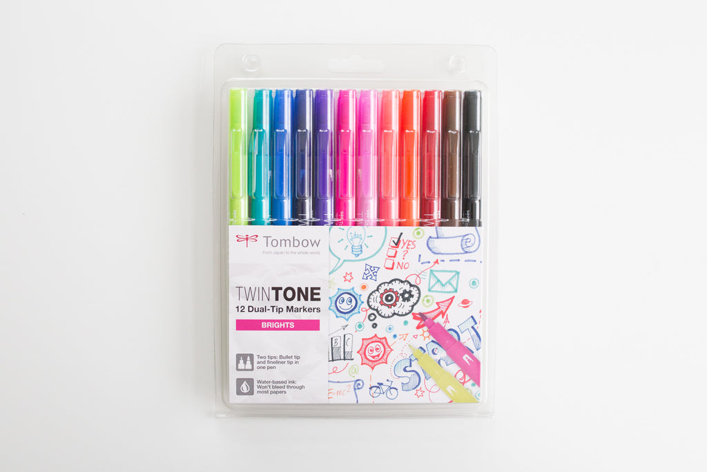 Tombow Twin Tone Brights