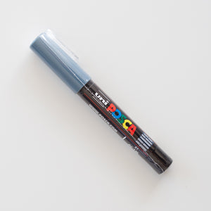 Posca PC-1MC Marker Slate Grey