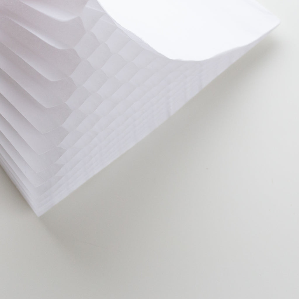 Honeycomb papier wit | Honeycomb paper white