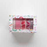 Washi Tape Red Set 5pc