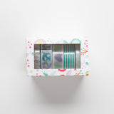 Washi Tape Blue Set 5pc