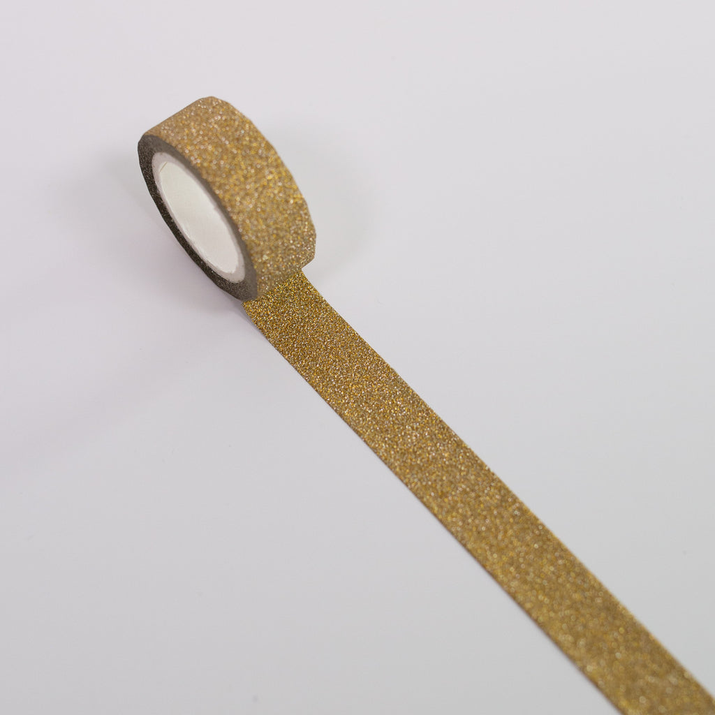Washi Tape Gold Glitter