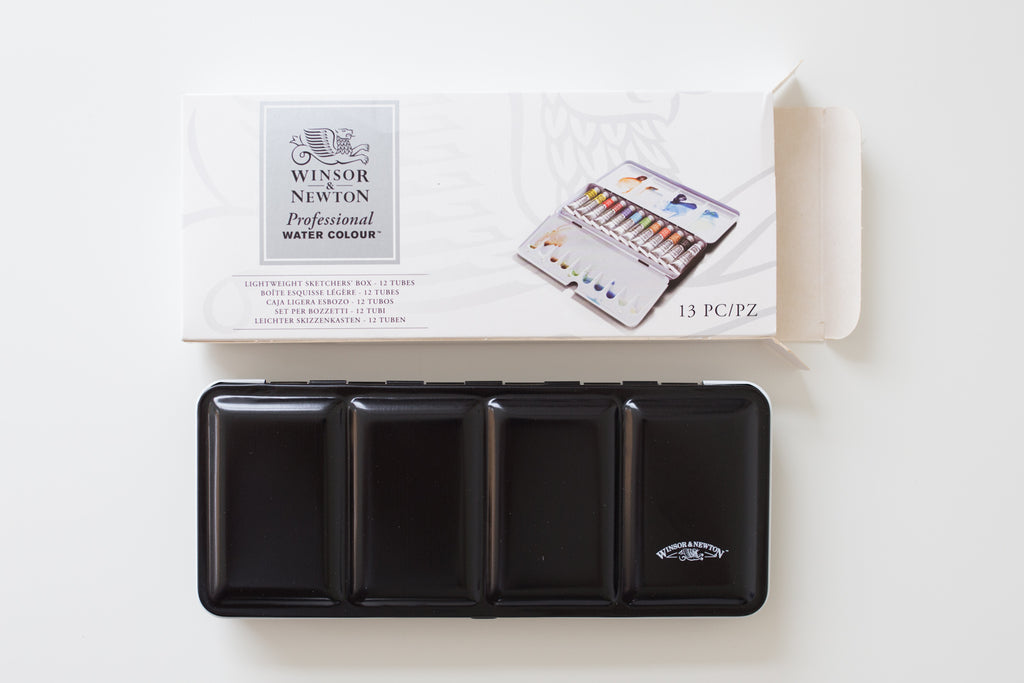 Winsor and Newton Professional watercolor box 12x 5ml