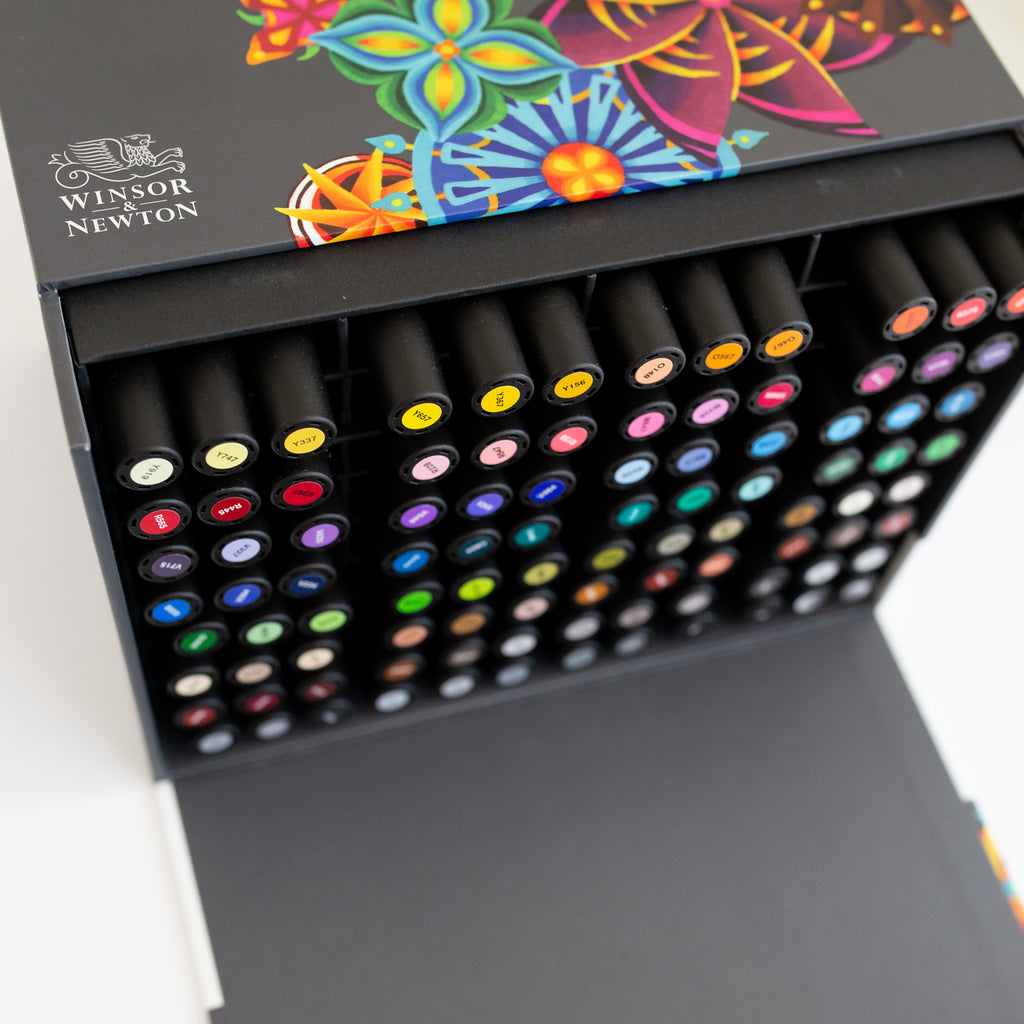 Winsor & Newton Promarker Set 96 Extended Collection