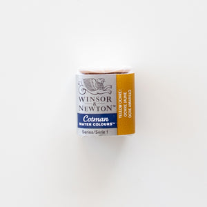 Winsor & Newton Cotman 744 Yellow Ochre