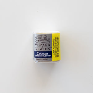 Winsor & Newton Cotman 346 Lemon Yellow Hue
