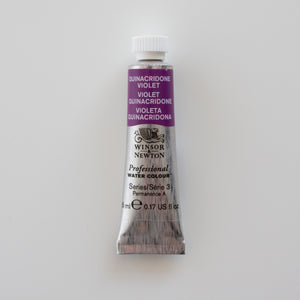 Winsor & Newton Professional Water Colours 5ml Quinacidrone Violet 3