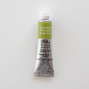 Winsor & Newton Professional Water Colours 5ml Olive Green 1
