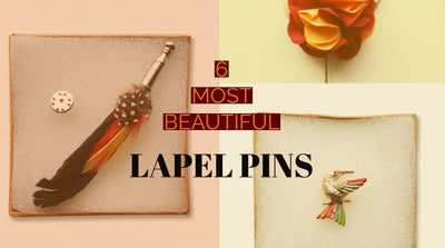 6 Most beautiful lapel pins you should add to your accessory collection