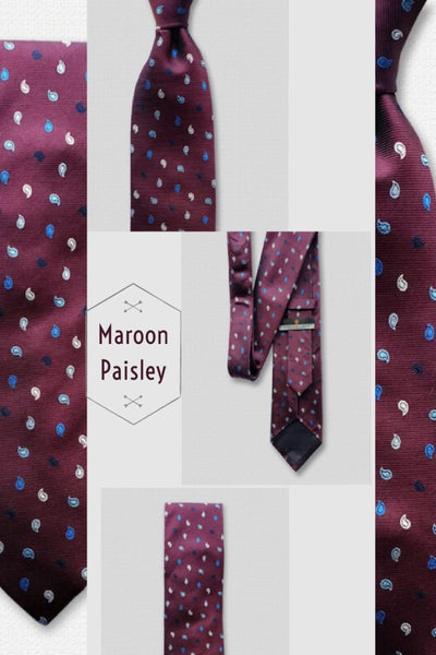 4 All Time Favorite Paisley Design Neckties to get Perfect Suiting