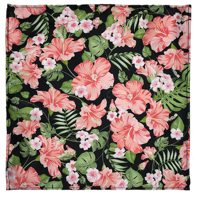 Floral Frenzy Silk Pocket Square