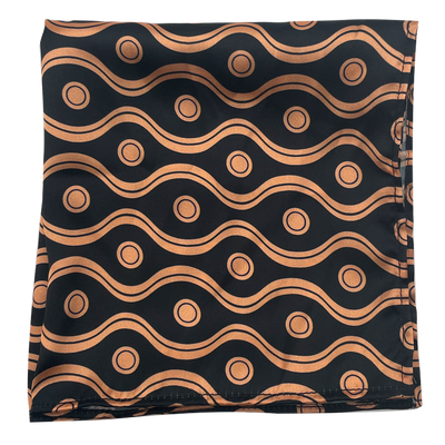 Golden Spiral Pocket Square
