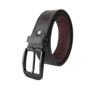 Tongue buckle Casual Brown Belt
