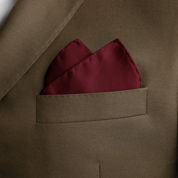 Square mystery pocket square