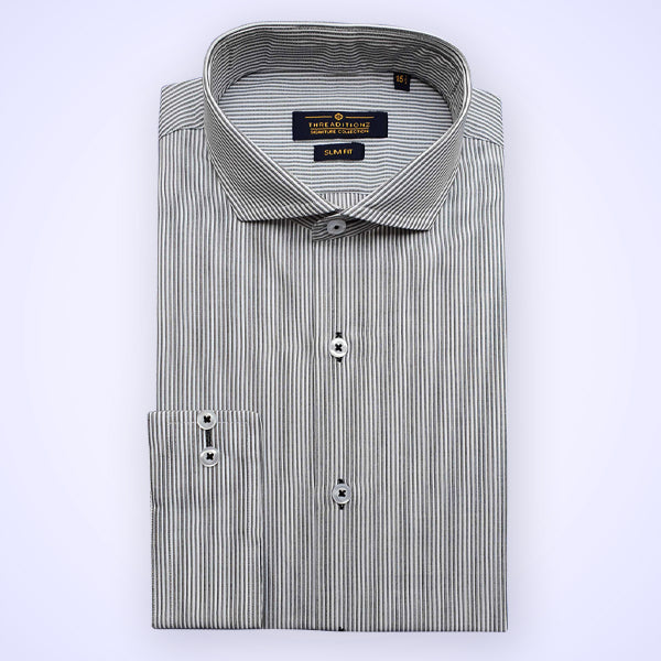 Black & White Cotton Shirt