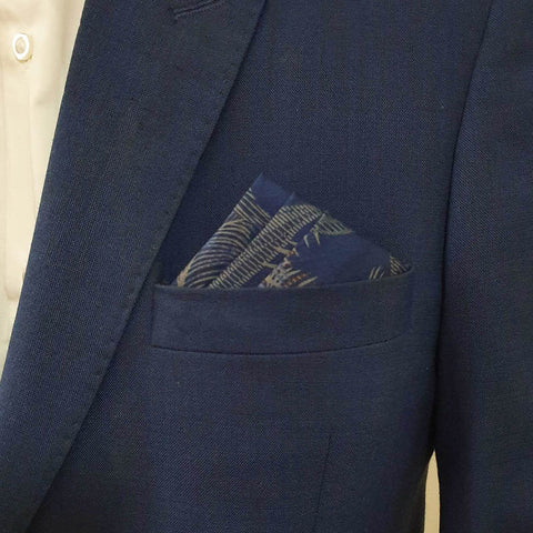 Blue Island Pocket Square