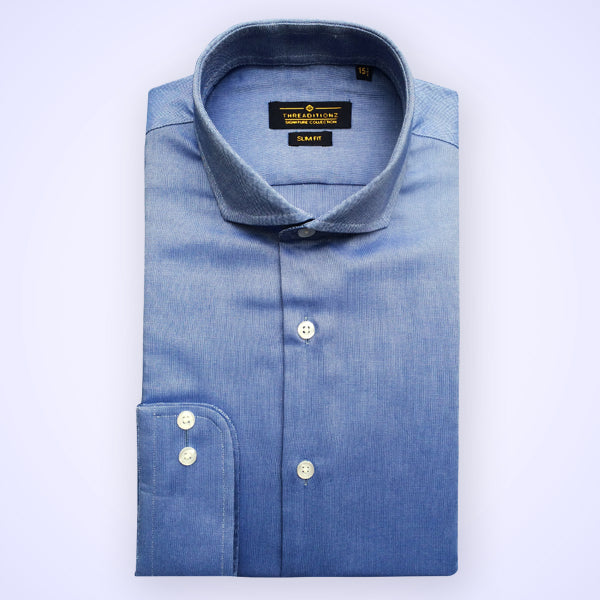 Blue Polo Cotton Shirt