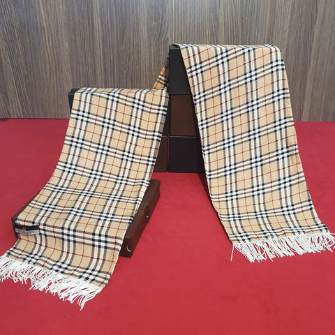 Burberry Classic Arabic Linen Scarf