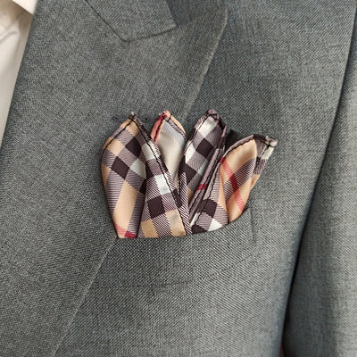 CLASSIC BRANDED POCKET SQUARE