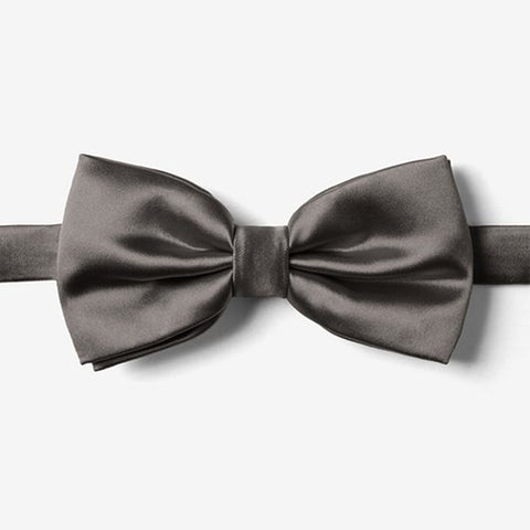 Dark Gray Bow Tie