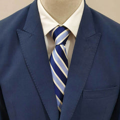 Dark & Light Blue Tie