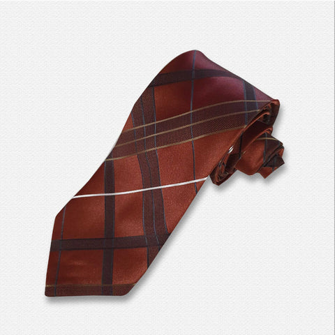 Go Brown Neck Tie