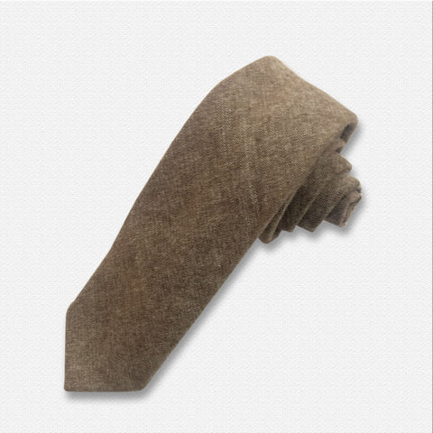 Light Brown Neck Tie